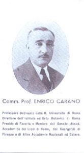 Pagellina funebre di E. Carano