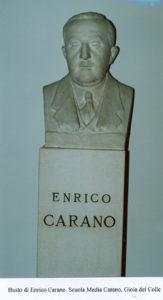 Busto di Enrico Carano