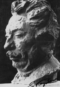 Busto di Pietro Argento