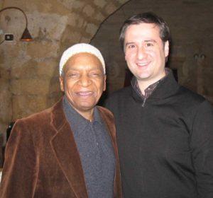 Marco Losavio con Bobby Durham