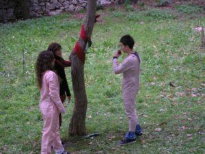 Adamo ed Eva tentati dal serpente