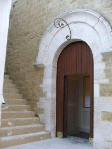 1. Chiesa di S. Andrea, ingresso
