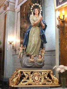 2. Simulacro dell'Immacolata Concezione (Chiesa di S. Andrea)