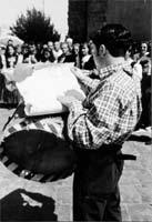 Banditore con tamburo