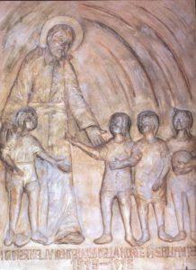 Monumento S. Filippo Neri - Gioia del Colle (BA) - anno 1995 - 100×150 cm