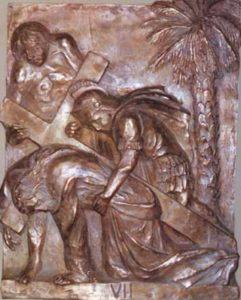 Via Crucis Chiesa di S. Rocco - Gioia del Colle - Bari - anno 1997 - 50×70 cm