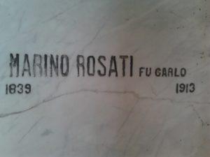 Lapide Marino Rosati