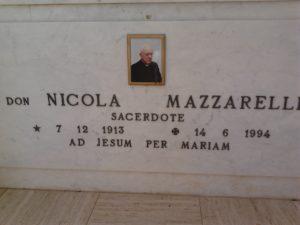 Lapide di Don Nicola Mazzarelli