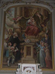 I Santi Patroni S. Filippo e S. Sofia ai piedi della Vergine (Chiesa Madre, transetto)