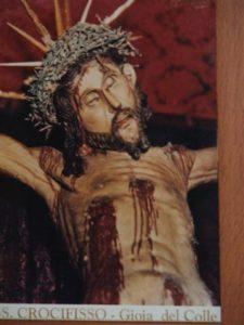 4. Crocifisso ligneo, particolare