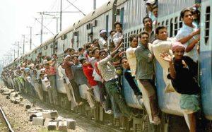 Aggrappati al treno …