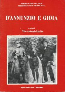 D'Annunzio e Gioia di A. Lozito