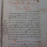 L' Apprezzo della Terra di Gioja del 1611