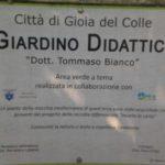 """Il Giardino didattico """"dott. Tommaso Bianco"""" a Gioia"""