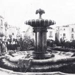 La fontana a Piazza XX Settembre